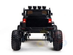 24v kids ride on truck lifted jeep rc kidsvip 37