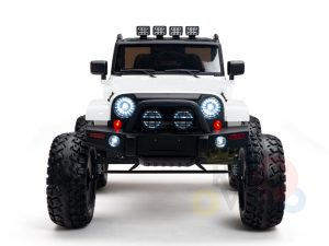 24v kids ride on truck lifted jeep rc kidsvip 39