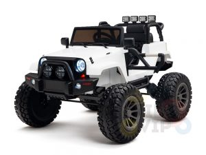24v kids ride on truck lifted jeep rc kidsvip 40