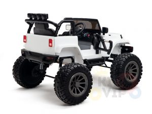 24v kids ride on truck lifted jeep rc kidsvip 43