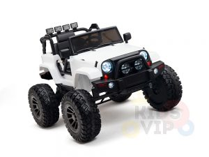24v kids ride on truck lifted jeep rc kidsvip 7