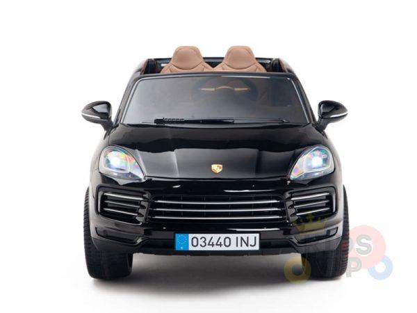 kidsvip porsche cayenne kids toddlers ride on car suv truc luxury black 10