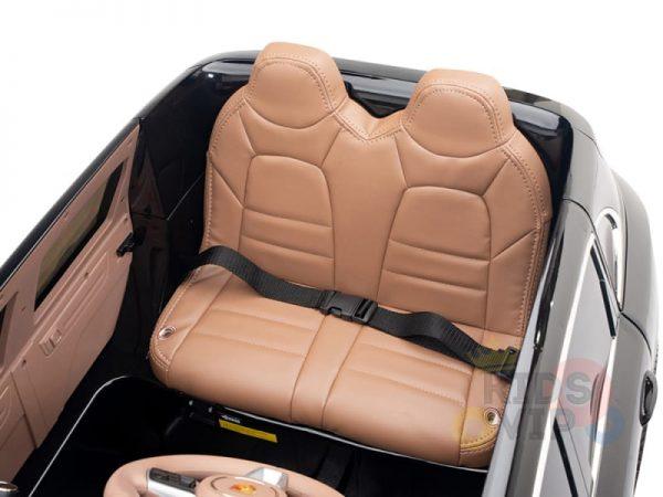 kidsvip porsche cayenne kids toddlers ride on car suv truc luxury black 15