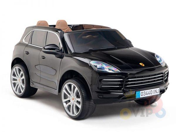kidsvip porsche cayenne kids toddlers ride on car suv truc luxury black 17