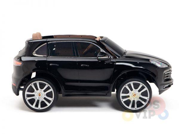 kidsvip porsche cayenne kids toddlers ride on car suv truc luxury black 18