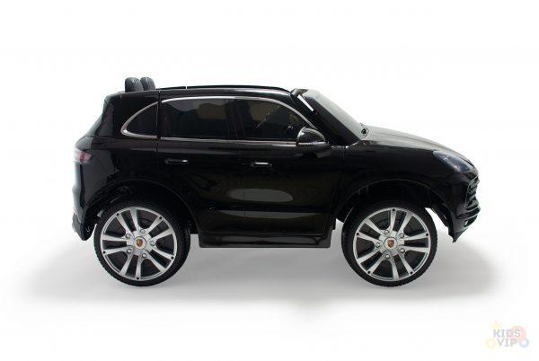 kidsvip porsche cayenne kids toddlers ride on car suv truc luxury black 2