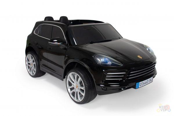 kidsvip porsche cayenne kids toddlers ride on car suv truc luxury black 23