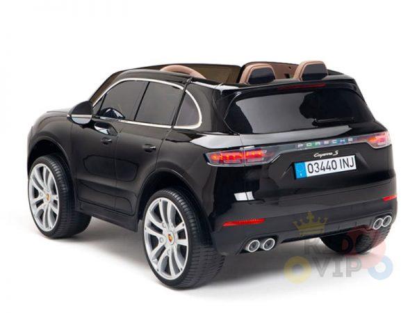 kidsvip porsche cayenne kids toddlers ride on car suv truc luxury black 8