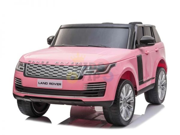 RANGE ROVER 2 SEAT RIDE ON CAR KIDSVIP pink 10 1