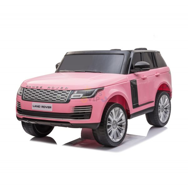 RANGE ROVER 2 SEAT RIDE ON CAR KIDSVIP pink 11 1