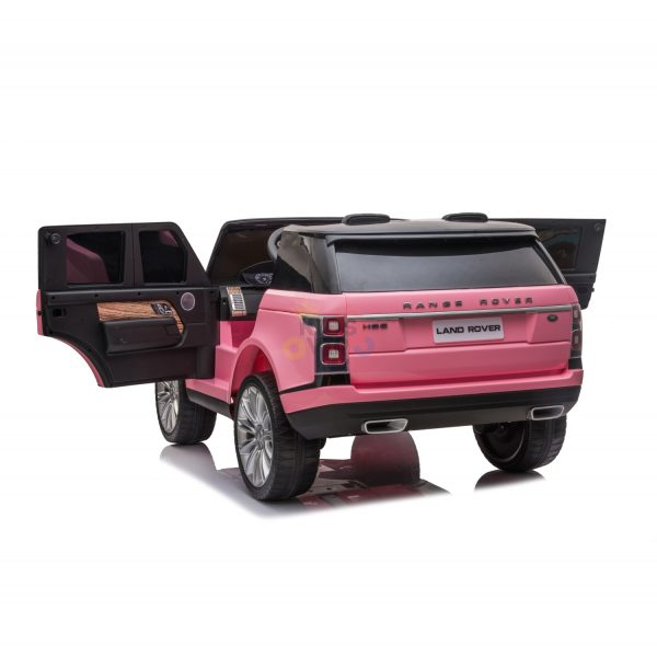RANGE ROVER 2 SEAT RIDE ON CAR KIDSVIP pink 5 1