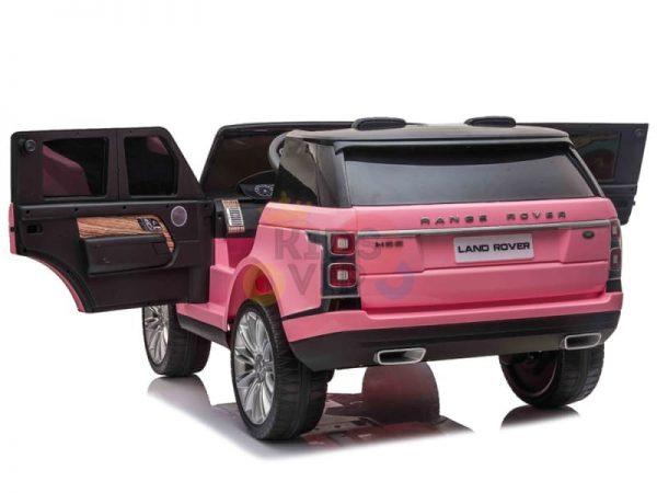 RANGE ROVER 2 SEAT RIDE ON CAR KIDSVIP pink 9 1