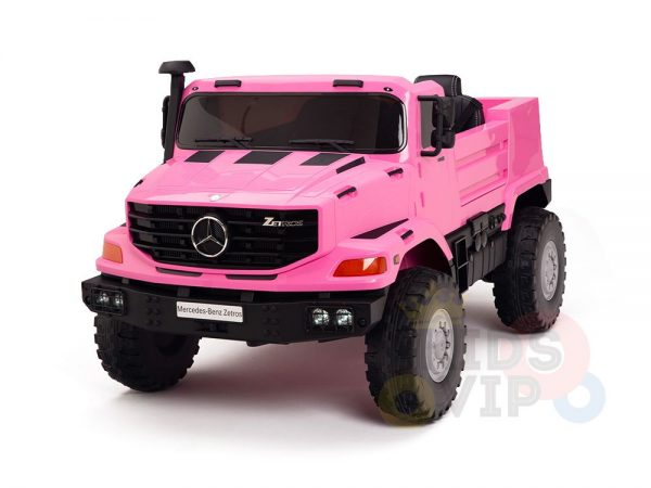 kidsvip zetros 24v kids ride on car 2 seater pink 13