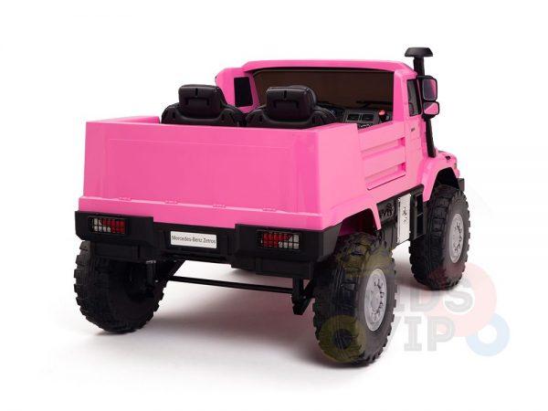 kidsvip zetros 24v kids ride on car 2 seater pink 19