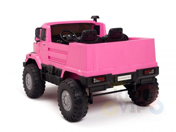 kidsvip zetros 24v kids ride on car 2 seater pink 22