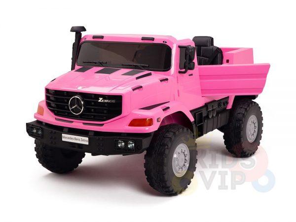 kidsvip zetros 24v kids ride on car 2 seater pink 25
