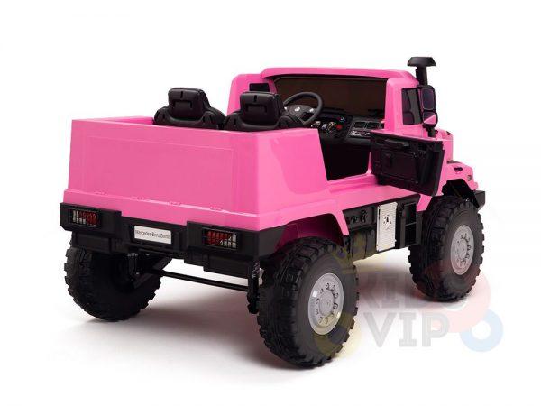 kidsvip zetros 24v kids ride on car 2 seater pink 6