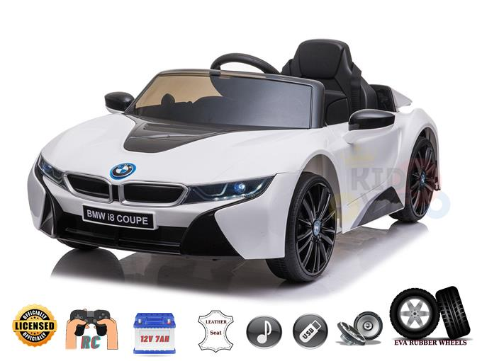 Licensed Sport BMW I8 12V Kids Ride On Power Car with Remote Control