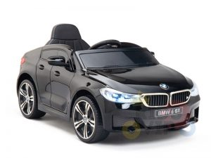 bmw gt kids and toddlers ride on car 12v rubber wheels leather seat blue 10 1