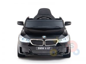 bmw gt kids and toddlers ride on car 12v rubber wheels leather seat blue 9 1