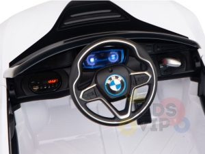 bmw i8 coupe kids and toddlers ride on car 12v remote kidsvip white 30
