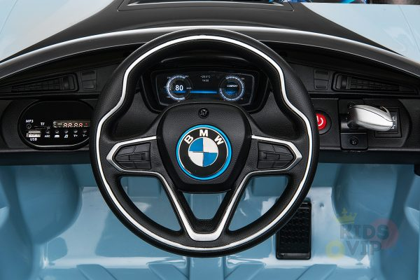 bmw i8 coupe kids and toddlers ride on car 12v remote kidsvip blue 28
