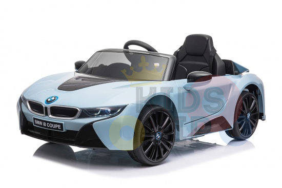bmw i8 coupe kids and toddlers ride on car 12v remote kidsvip blue 29