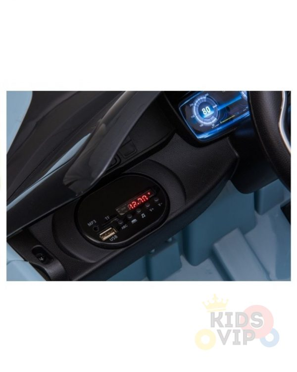bmw i8 coupe kids and toddlers ride on car 12v remote kidsvip blue 36