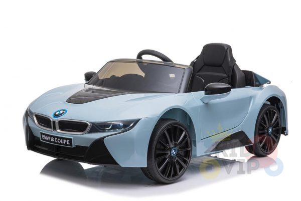 bmw i8 coupe kids and toddlers ride on car 12v remote kidsvip blue 39