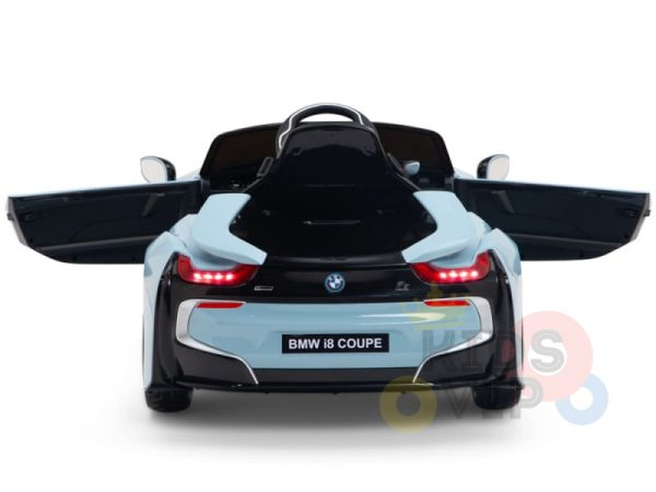 bmw i8 coupe kids and toddlers ride on car 12v remote kidsvip blue 41