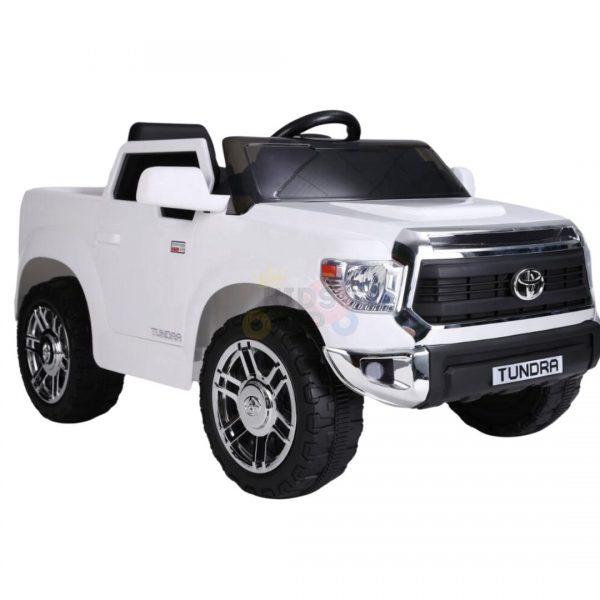 kids ride on car tundra 12 toyota 12v kidsvip WHITE 2