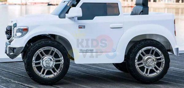 kids ride on car tundra 12 toyota 12v kidsvip WHITE 5