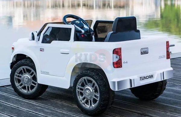 kids ride on car tundra 12 toyota 12v kidsvip WHITE 6