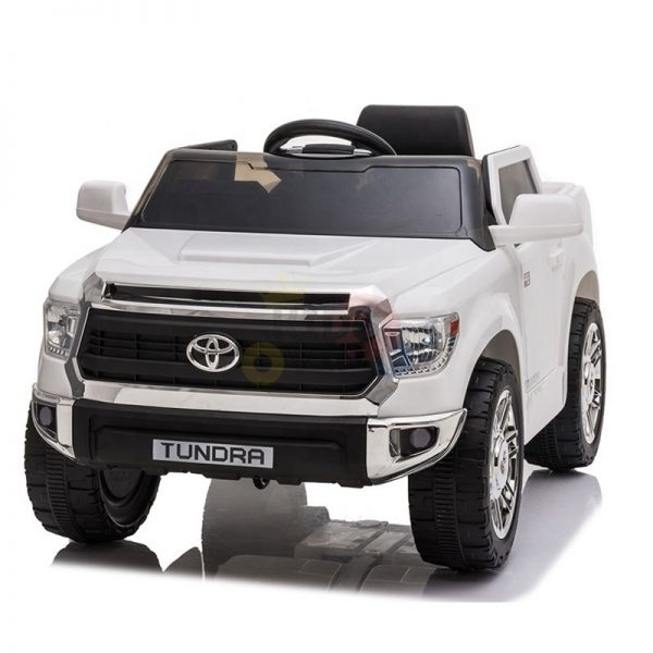 kids ride on car tundra 12 toyota 12v kidsvip WHITE 7