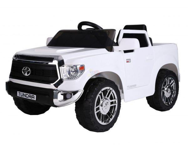 kids ride on car tundra 12 toyota 12v kidsvip WHITE 9