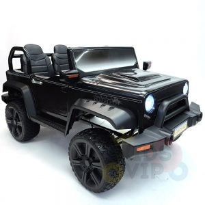 kidsvip 2 seater ride on truck 2 12v batteries kids and toddlers black 18