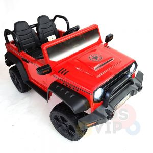 kidsvip 2 seater ride on truck 2 12v batteries kids and toddlers red 20