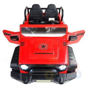 kidsvip 2 seater ride on truck 2 12v batteries kids and toddlers red 27