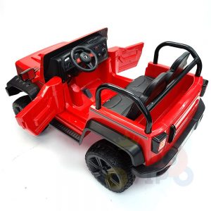 kidsvip 2 seater ride on truck 2 12v batteries kids and toddlers red 37