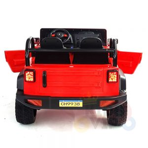 kidsvip 2 seater ride on truck 2 12v batteries kids and toddlers red 7