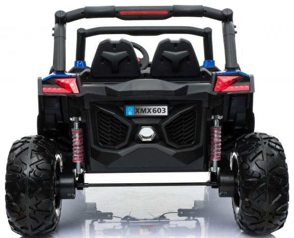 kidsvip 2 seater ride on utv sport 24v rubber wheels toddlers kids black 32 scaled