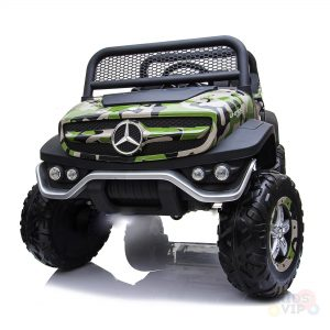 kidsvip mercedes unimog 24v ride on truck kids and toddlers army 13