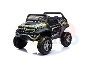 kidsvip mercedes unimog 24v ride on truck kids and toddlers army 17