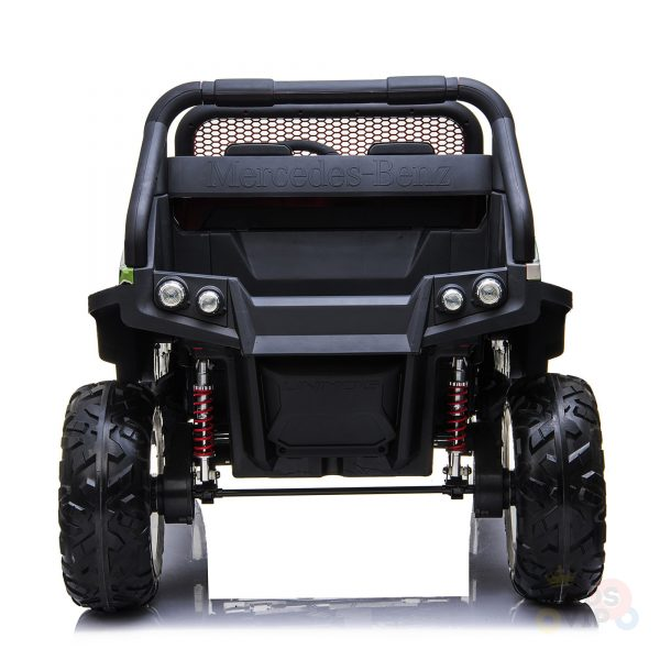 kidsvip mercedes unimog 24v ride on truck kids and toddlers army 6