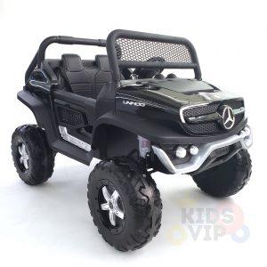 kidsvip mercedes unimog 24v ride on truck kids and toddlers black 10
