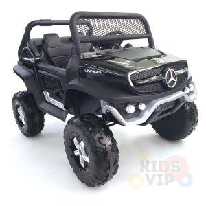 kidsvip mercedes unimog 24v ride on truck kids and toddlers black 13