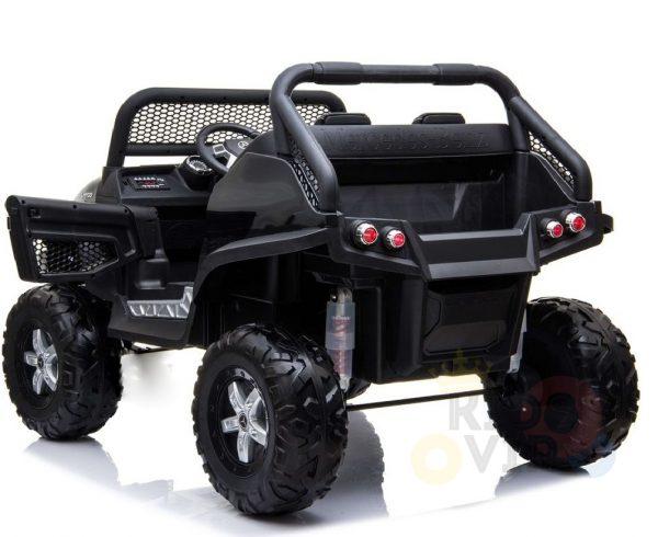 kidsvip mercedes unimog 24v ride on truck kids and toddlers black 15