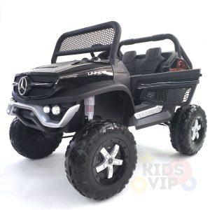 kidsvip mercedes unimog 24v ride on truck kids and toddlers black 33