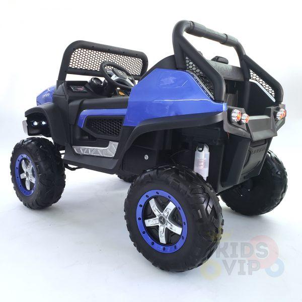 kidsvip mercedes unimog 24v ride on truck kids and toddlers blue 10