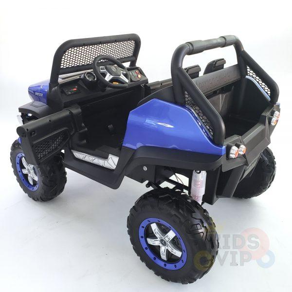 kidsvip mercedes unimog 24v ride on truck kids and toddlers blue 13